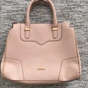 Blush handbag